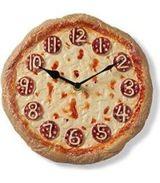 pizza orologio