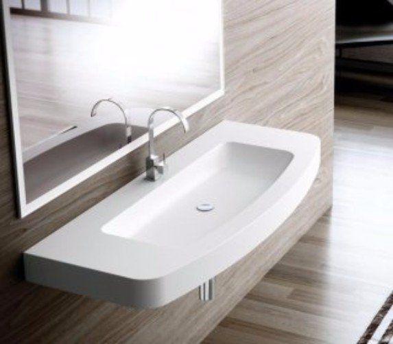 lavabo arrotondato