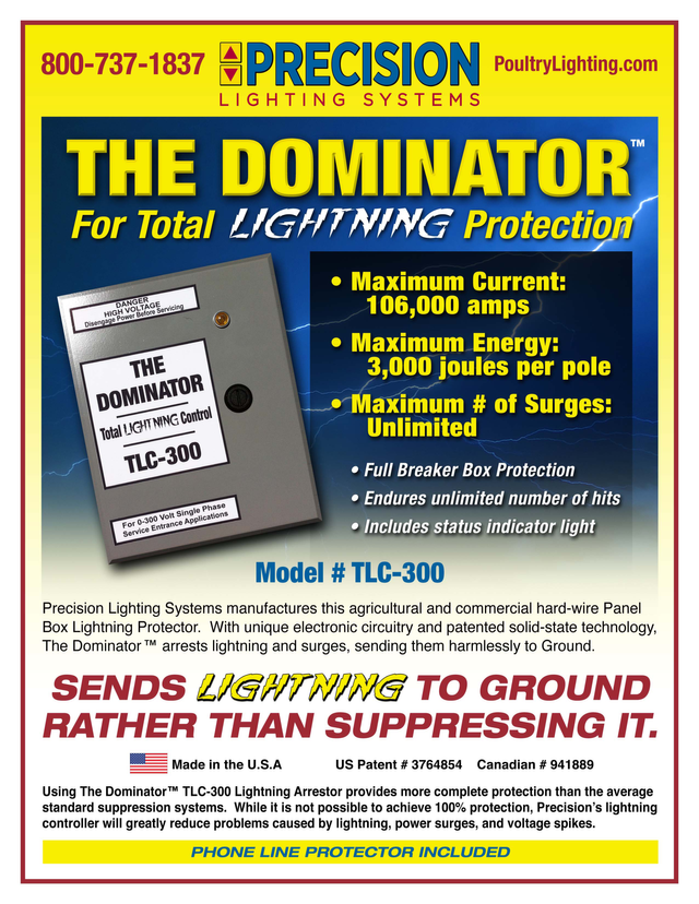 Dominator Breaker Precision Lighting Systems Inc Hot