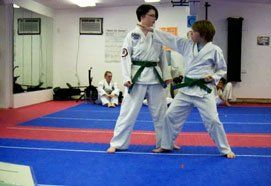Children's training offered by Fairbanks Taekwon-Do