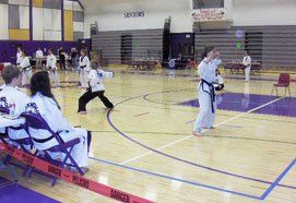 by Fairbanks Taekwon-Do's classes