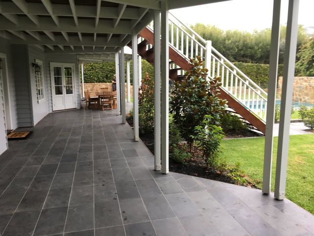 One of our paving projects on the Mornington Peninsula