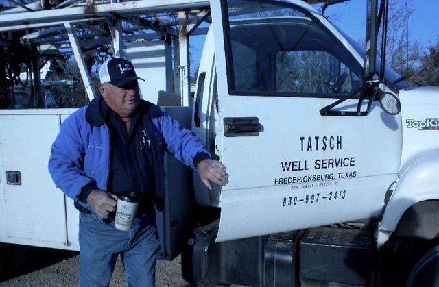 Dennis Tatsch Owner Tatsch Well Service in Fredericksburg, TX