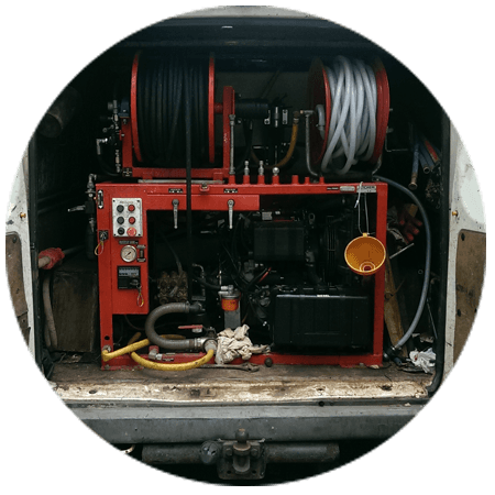 advanced equipment for drain cleaning