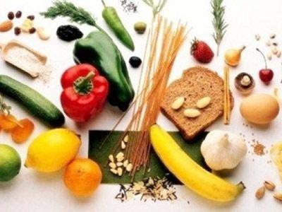 frutta, verdura, legumi, cereali e frutta secca
