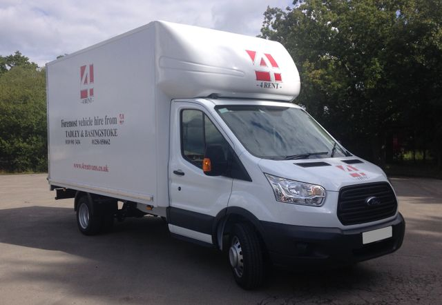 A Ford Transit Luton SWB/LWB (Diesel) Available for Hire