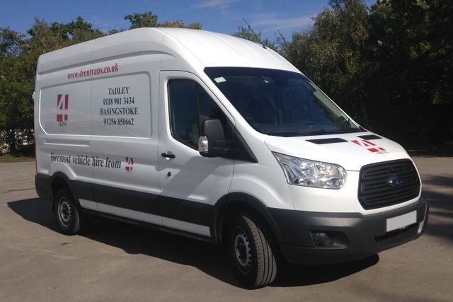 A Ford Transit LWB (Diesel) Available for Hire