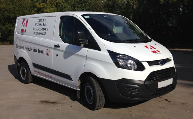 A Ford Transit SWB (Diesel) Available for hire