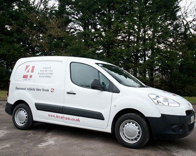 A Peugeot Partner (Diesel) Available for hire