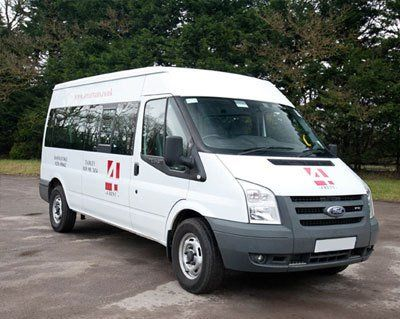 A Ford Transit Minibus (Diesel) Available for Hire