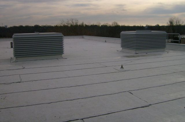 Example Of A Commercial Flat Roofing Service In Columbia, MO