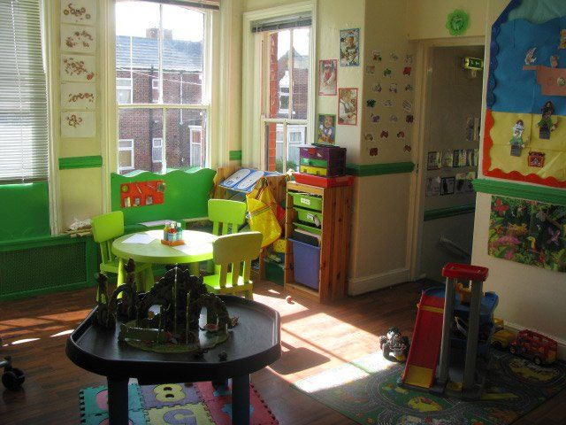 ventilated play room
