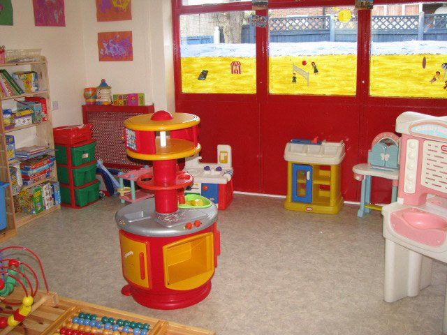 children's toy room
