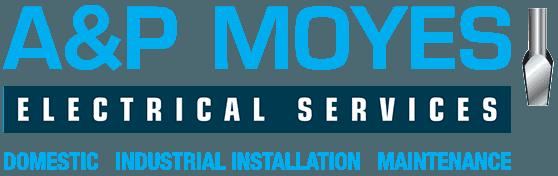 A & P Moyes Electrical Service logo