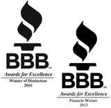 BBB Pinnacle Award | AirCon Service Company Houston