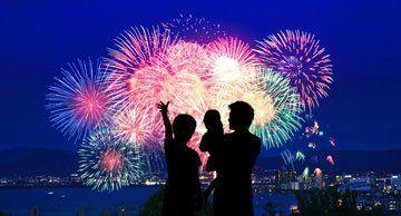 attractive fireworks