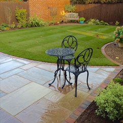 Garden paving and driveways