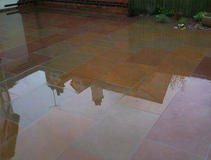 wet flooring