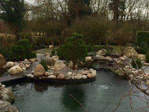 Ornamental fish ponds