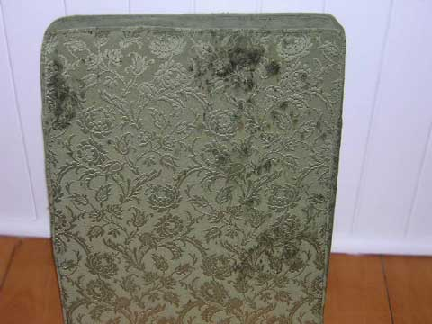 Stained upholstery