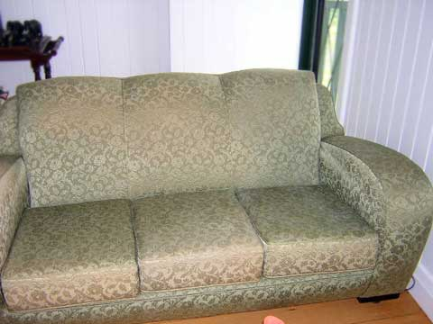 Stain removed from sofa