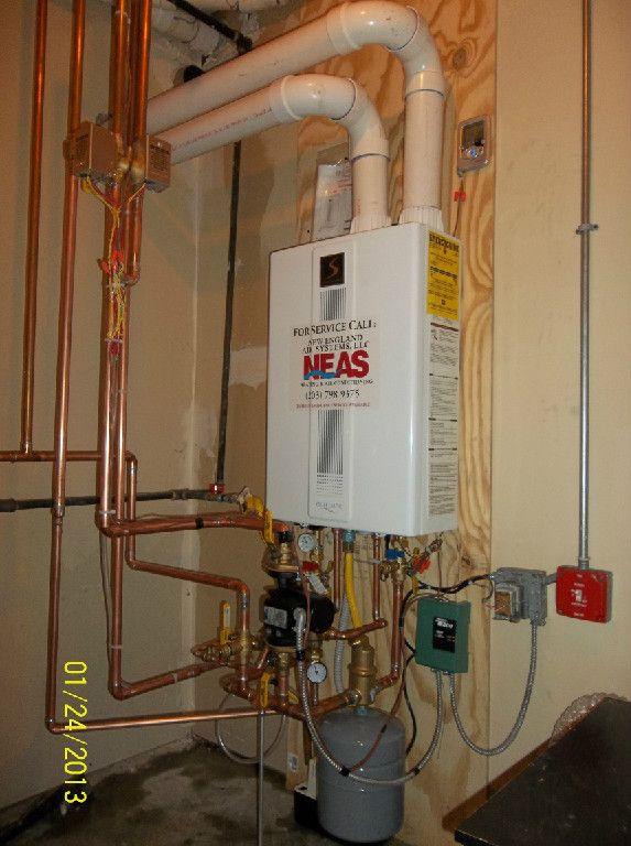 Condensing Boiler: Quietside Dual Purpose Condensing Boiler