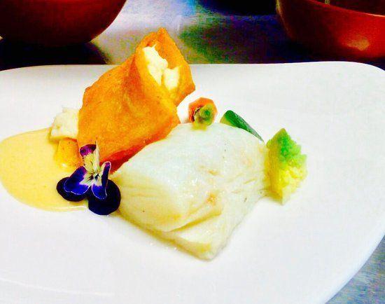 piatto con pesce