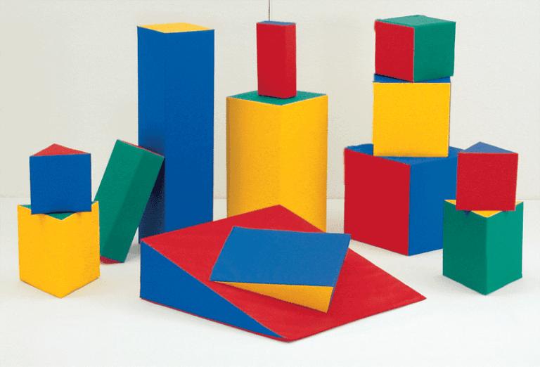 Figure geometriche in gomma