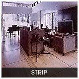 Strip wood flooring