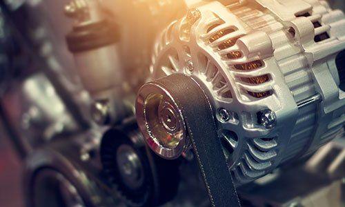 parte colorata motore di automobile