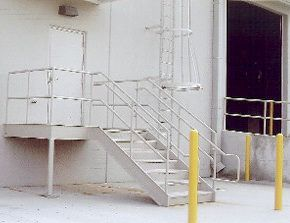 Example of steel fabrication services in Archdale, NC