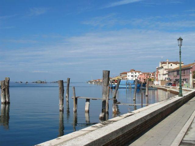vista porto dell'isola di Pellestrina