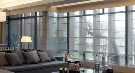 Transparent blinds