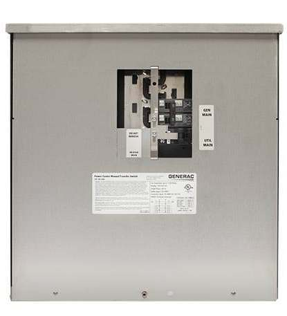Home backup transfer switch