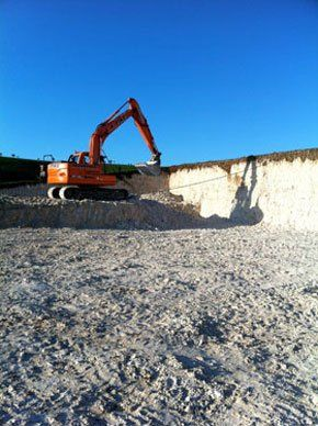 Machinery Hire - Chard, Dorset - A.A Pike Construction Ltd - Plant hire