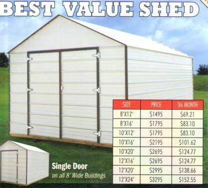 Best Value Shed in Benton, AR