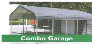 Carport garage combo in arkansas