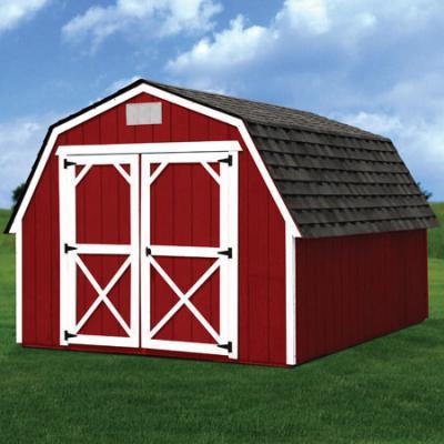Painted barn in Arkansas
