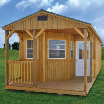 treated deluxe cabin in arkansas