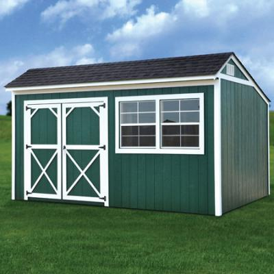 painted cottage shed in arkansas
