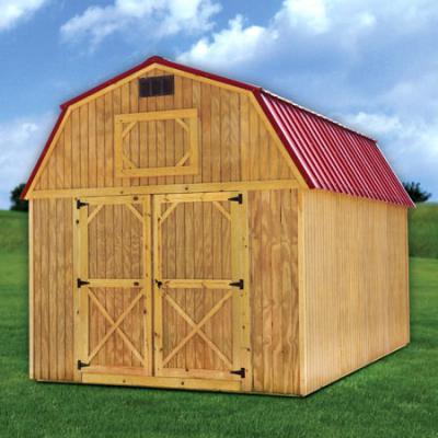 treated loft barn in arkansas
