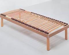 rete letto tradizionale in legno