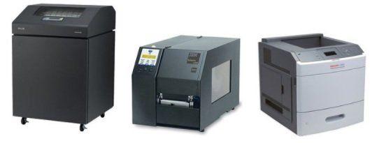 ibm printers