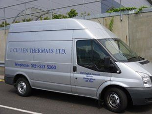 Asbestos - Birmingham, West Midlands -  J. Cullen Thermals Limited - Van
