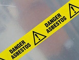 Asbestos Warning  - Birmingham, West Midlands -  J. Cullen Thermals Limited - Tape