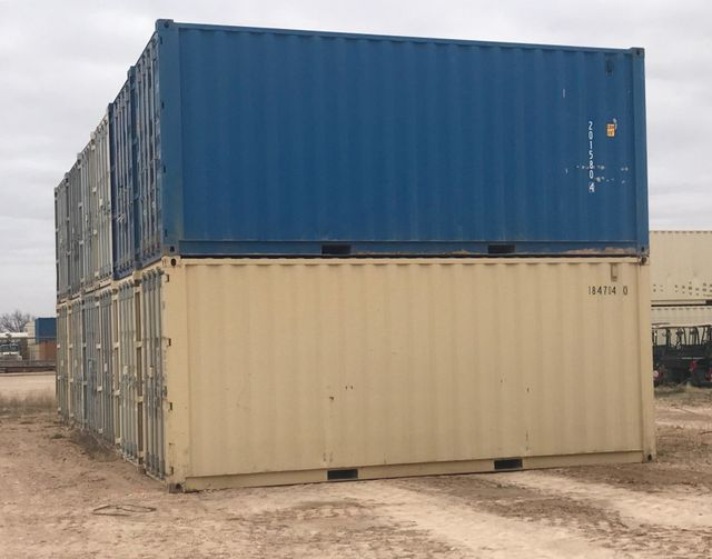 Storage Containers Monahans Odessa Midland TX Sizes Types