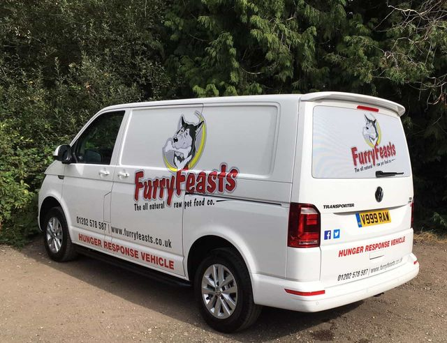Furry Feasts Hunger Response Vehicle