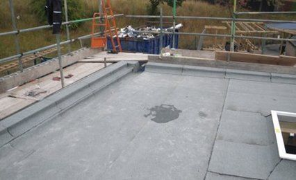 roofing repair work