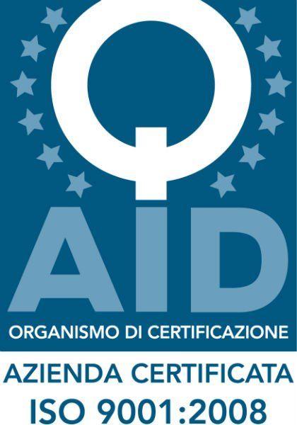 logo organismo di certificazione azienda certificata ISO 9001 2008