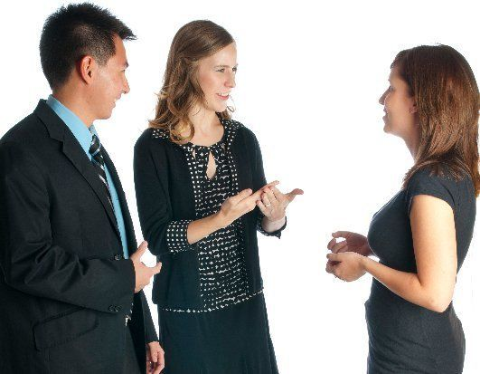 Effective communication using sign language